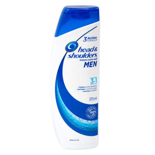 Shampo Head&shoulders Men, 3en 1,375 ml